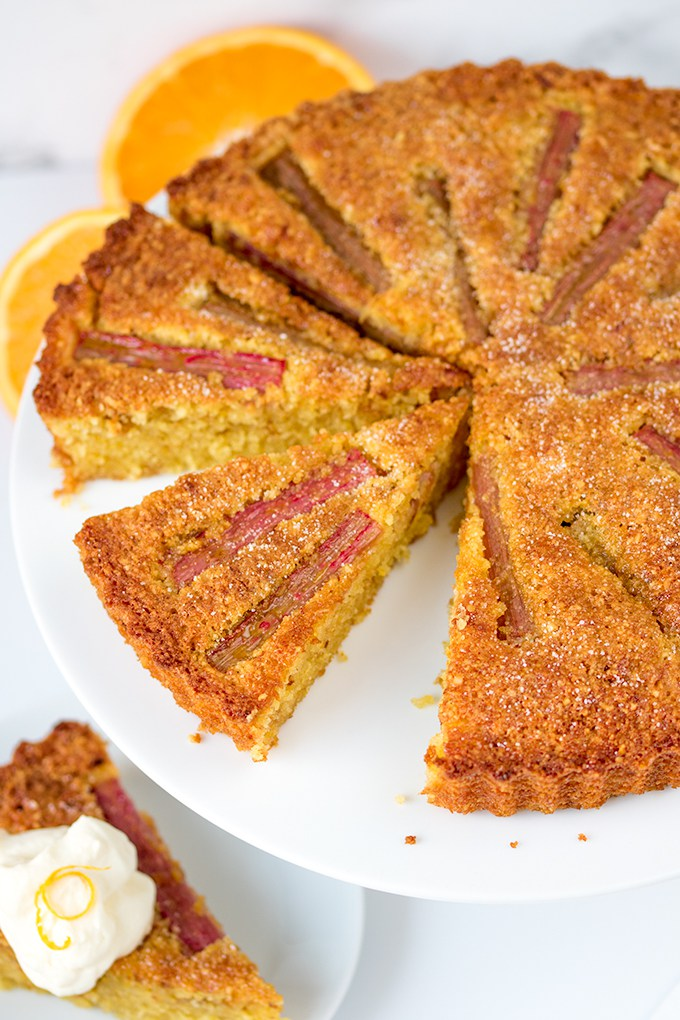 Eight Of The Best Rhubarb Cakes Bakes From A Hackney Kitchen